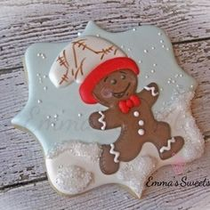 ♥ Gingerbread Man Cookies ~ Run, run as fast as you can!  Emma's Sweets ♥