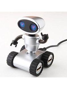 Robot USB Hub ❤ Colorfulitems