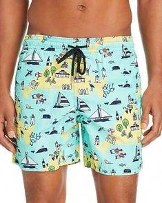 SINOVAL Mens Sunflowers Designs Swim Trunks Drawstring Elastic Waist Surfing Beach Board Shorts