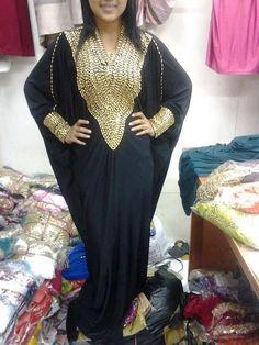 Dubai Kaftan Abaya / alabiya ladies dress Indonesia by AFROTRENDS