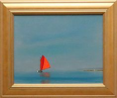 "Robert Stark oil on canvas ""Approaching the Point"", signed lower right R. Stark. 