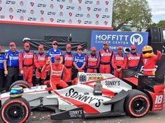 Sonny's #IndyCar driver @sbourdais of @dalecoyneracing just took home the trophy at #FirestoneGP  Great pic @PaddockInsider!