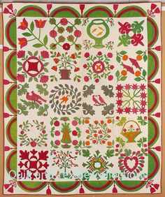 Baltimore album vintage quilt