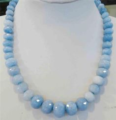 10-18mm-Brazilian-Aquamarine-Faceted-Gem-Abacus-Beads-Necklaces