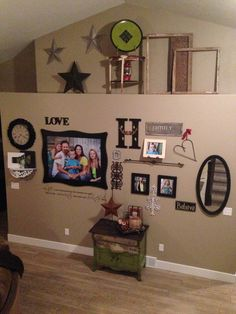 Collage wall turned out awesome