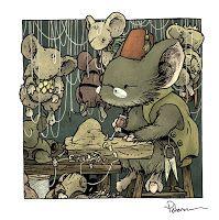 David Petersen's Blog: Mouse Guard Puppeteer