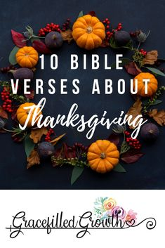 10 Bible verses about Thankfulness