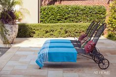 Landscape design by Chris Olsen of Botanica Gardens, Pool design by Brooks Pool Co., Photographed by Nancy Nolan for @At Home in Arkansas   http://www.athomearkansas.com/article/warm-welcome-1