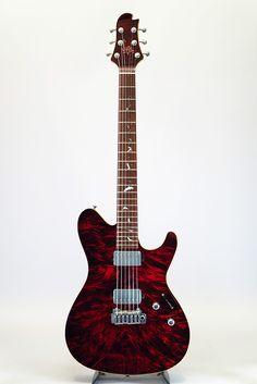 Sugi[スギギター] DS496HR EM-EX/AT/H-MAHO/Bat inray (GLR)【SoundMesse出展品】|詳細写真