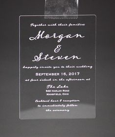 """""""Simplicity, Wit, and Good Typography. Michael Bierut, Acrylic Invitations, Table Signs, Fort Collins, Acrylic Colors, Typography, Simple, Unique, Letterpress"""