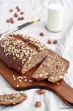 Eiweißbrot mit Skyr - Low Carb - # Check more at diet. - Eiweißbrot mit Skyr – Low Carb – # Check more at diet. Protein Bread, Low Carb Protein, Low Carb Bread, High Protein Recipes, Low Carb Keto, Low Carb Recipes, Paleo Dessert, Dessert Bread, Law Carb