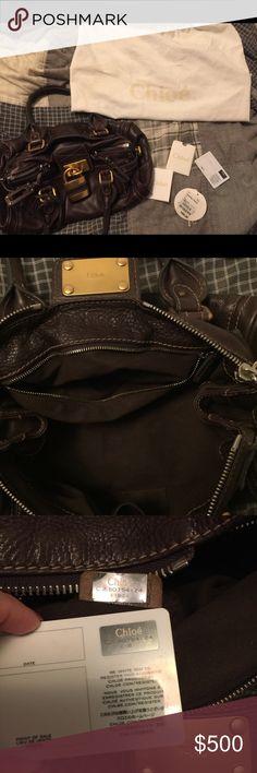 Chloe Paddington Leather bag Beautiful Chloe Leather Paddington bag.  Chocolate brown b4b5f27094280