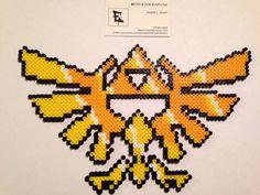 Legend of Zelda Skyward Sword Emblem Perler Bead Design