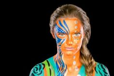 vm 2015 Handball body painting