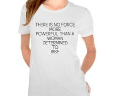 No Force More Powerful Than A Woman by FreedomShopDesign on Etsy