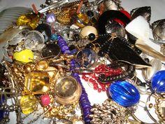 Vintage Destash lot Wear Repair  Repurpose Art by TigersPlace, $10.00