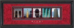 Miami, Florida Framed Letter Art
