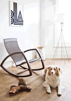 Gaivota Rocking chair//