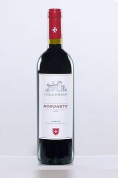 Moroneto Umbria Rosso IGT- Un vino dalla struttura eccellente, apprezzato per la sua freschezza, il gusto gradevole e le note aromatiche. -A wine of excellent structure, appreciated for its freshness, pleasing flavour and aromatics notes.