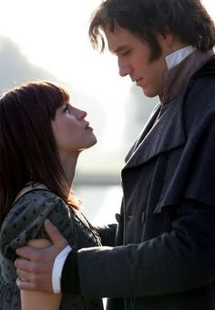 Lost in Austen (2008) - Jemima Rooper as Amanda Price & Elliot Cowan as Mr. Darcy. I adore this movie which brings back all our favorite P characters, with some twists!