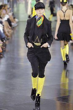 Ralph Lauren Spring 2008 Ready-to-Wear Fashion Show - Anna Korzun