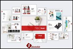 Break Powerpoint Template by Slientslide on @creativemarket