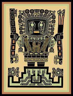 Ancient Aliens, Ancient Art, Maya Art, Quetzalcoatl Tattoo, Peruvian Art, Inca Empire, Aztec Art, Mesoamerican, Chicano Art