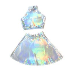 Matching top and skirt                                                                                                                                                                                 More