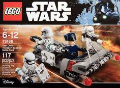 LEGO Star Wars 75166 First Order Transport Speeder Battle Pack