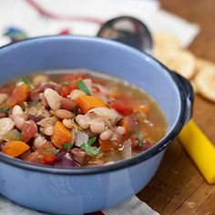 Smoky, hearty 15 Bean Soup to warm you on a cold winter day
