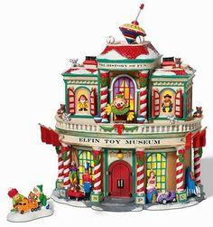 Elfin Toy Museum -UTube NEW Department Dept. 56 North Pole Village D56 NP