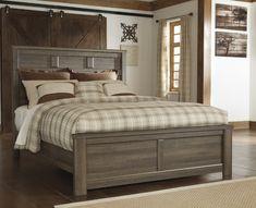 OCFurniture - Ashley Furniture Juararo B251 Vintage Brown Panel Bed, $395.00 (https://www.ocfurniture.com/ashley-furniture-juararo-b251-vintage-brown-panel-bed/)