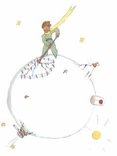 Le Petit Prince by Saint-Exupery