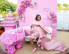 Pretty Pink Baby Shower Baby Brunch – MunaMommy Baby Shower Themes, Baby Shower Decorations, Shower Baby, Shower Ideas, Girl Birthday Decorations, Different Shades Of Pink, Hacks, Event Decor, Pretty In Pink