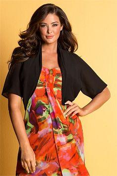Jackets, Coats & Vests - Grace Hill Woman Bolero - EziBuy New Zealand Full Figured, Vests, Fashion Online, Curvy, Women Wear, Sari, Plus Size, Clothes For Women, Woman