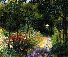 Pierre-Auguste Renoir - Women in a Garden