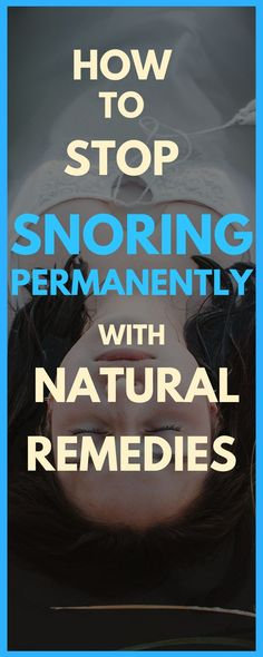 How To Stop Snoring: 4 Easy Snoring Remedies That Will Give A Good Night's Sleep
