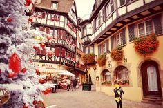 Christmas in Alsace. Colmar. France