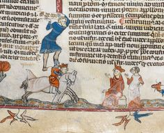 Smithfield decretals. 1300-1340