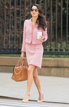 12 Chic Amal Clooney Looks to Inspire Your Work Wardrobe - Work Dresses - Ideas of Work Dresses - 11 Chic Amal Clooney Looks to Inspire Your Work Wardrobe April 15 2015 from Business Casual Dresscode, Business Casual Damen, Business Outfit, Business Suits For Women, Work Suits For Women, Business Formal Women, Suits Women, Women's Suits, Business Chic