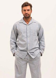 Driftwood Pyjamas. PJ Pan. Men s Blue Brushed Cotton ... c721ebef4