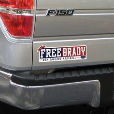 Free Brady Sticker