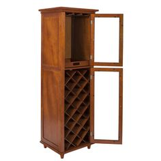 Kensington 20-bottle Wine Storage Cabinet - Overstock™ Shopping - Great Deals on Wine Racks