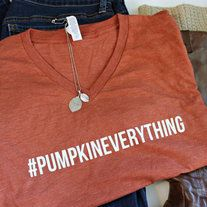 #PumkpinSpiceEverything tshirt xm-2xl from Music City Pretty Boutique