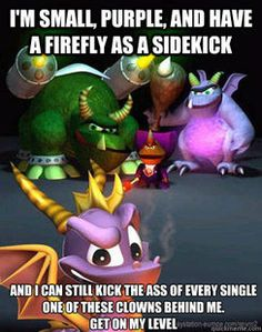 Spyro - The greatest video game hero of ALL!