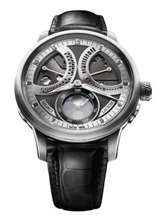 Maurice Lacroix Masterpiece Lune Retrograde Limited Edition Mechanical... - http://watchesntime.com/maurice-lacroix-masterpiece-lune-retrograde-limited-edition-mechanical/