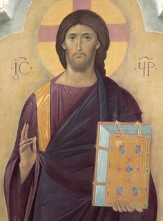 Christ Pantocrator Byzantine Icons, Byzantine Art, Christ Pantocrator, True Faith, Color Studies, Orthodox Icons, Blessed Mother, Illuminated Manuscript, Fresco