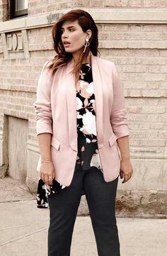 dc5d5e39a0b3 21 Best Plus Size Blazer images | Plus Size Fashion, Curvy girl ...