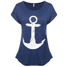 Sueetyus Women's Summer Boat Anchor Printing Short Sleeve... https://www.amazon.com/dp/B071DQWYTH/ref=cm_sw_r_pi_dp_U_x_9L1NAb8J2WYZ3