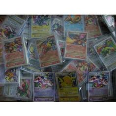 30 Pokemon Card Pack Lot - with Level X OR EX Card + Bonus MEW + a Collectors...